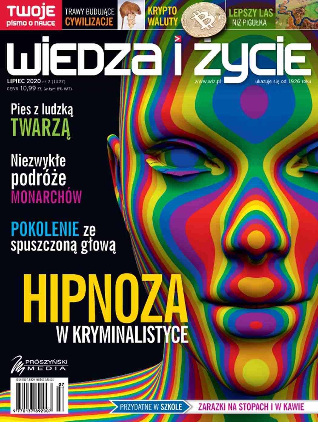 Wiedza i Życie nr 7/2020 - Ebook (Książka PDF) do pobrania w formacie PDF