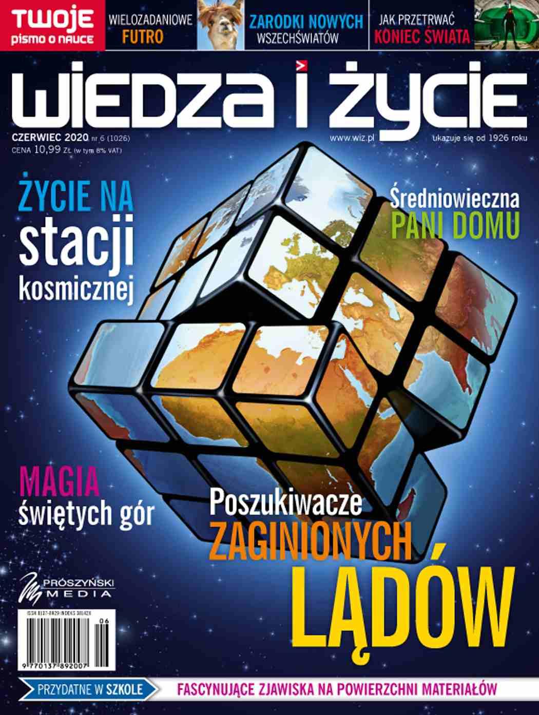 Wiedza i Życie nr 6/2020 - Ebook (Książka PDF) do pobrania w formacie PDF