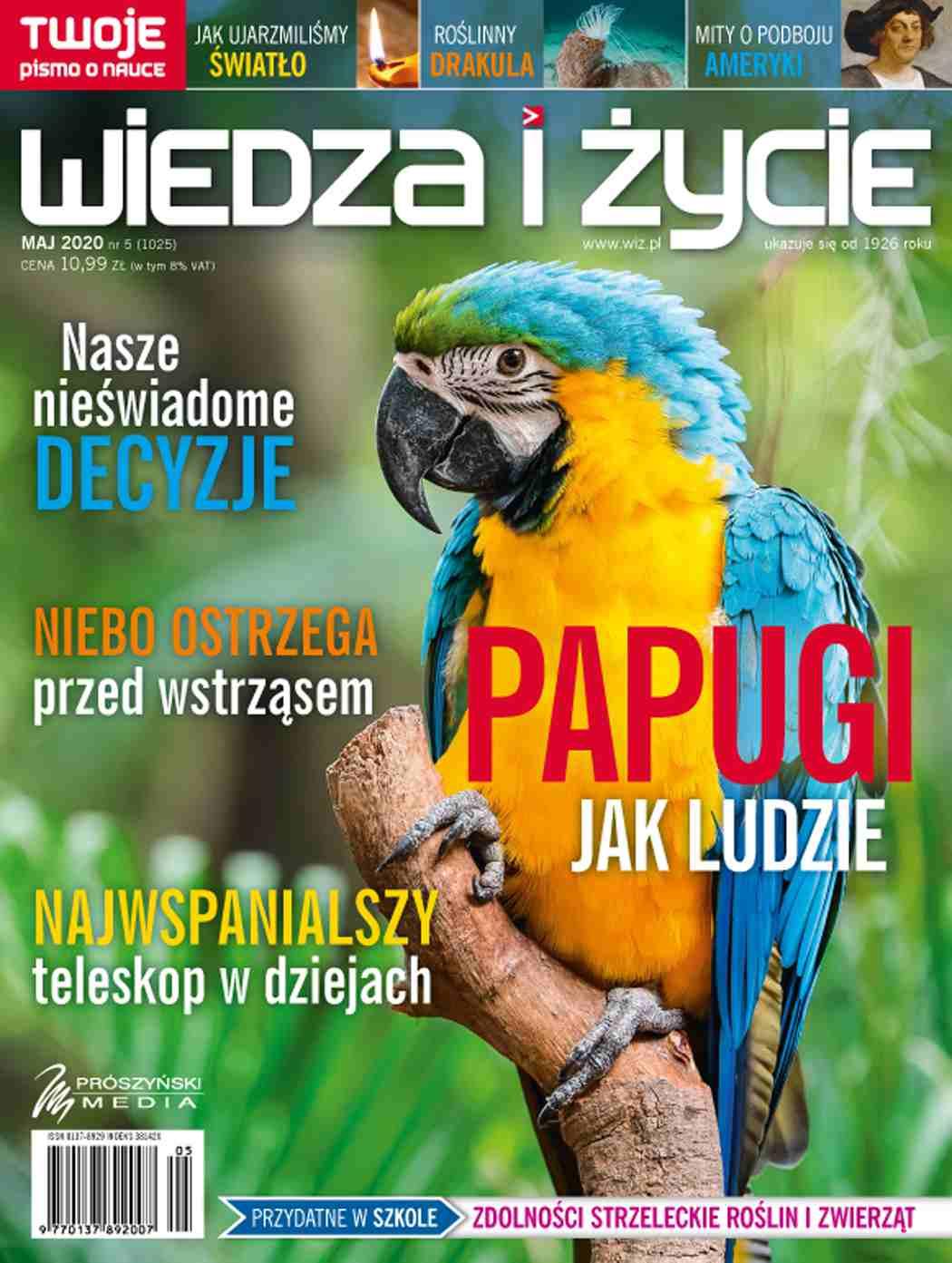 Wiedza i Życie nr 5/2020 - Ebook (Książka PDF) do pobrania w formacie PDF