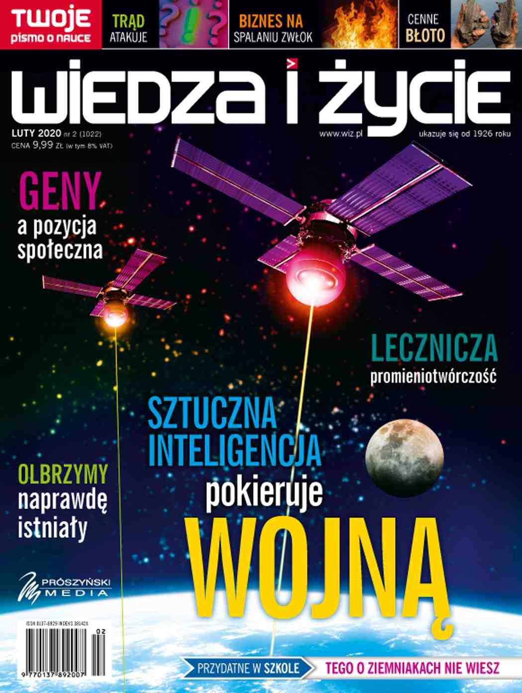 Wiedza i Życie nr 2/2020 - Ebook (Książka PDF) do pobrania w formacie PDF