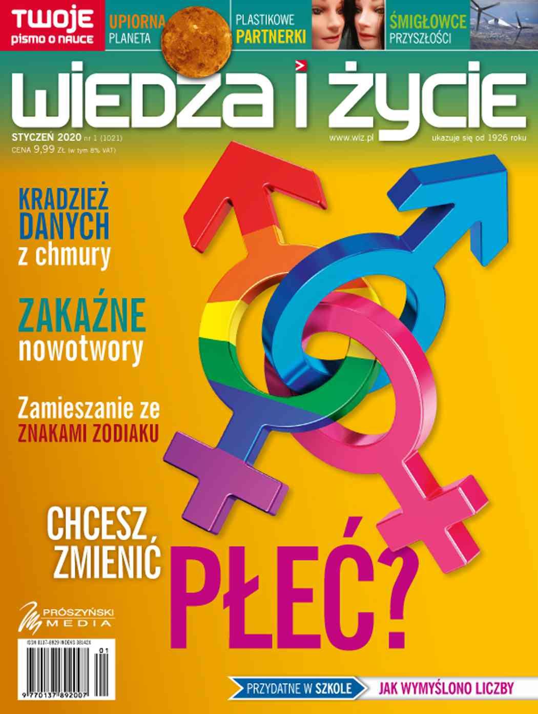 Wiedza i Życie nr 1/2020 - Ebook (Książka PDF) do pobrania w formacie PDF