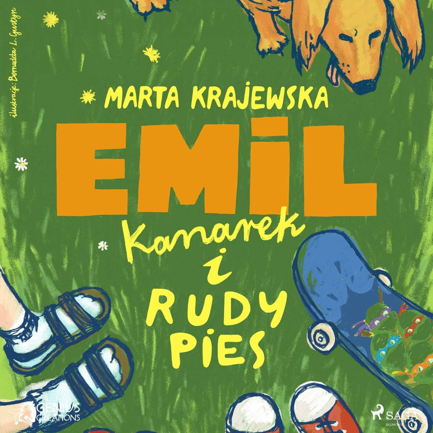 Emil, kanarek i rudy pies - Audiobook (Książka audio MP3) do pobrania w całości w archiwum ZIP