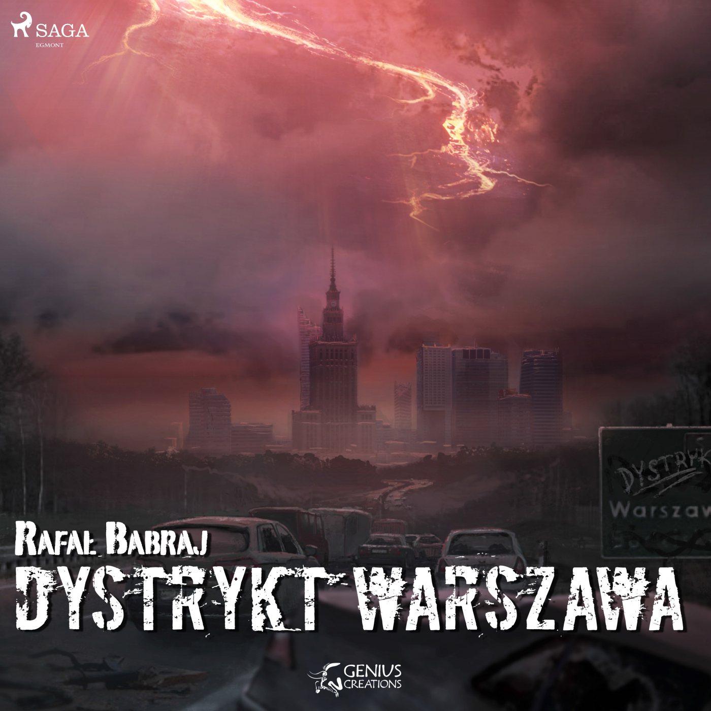 Dystrykt Warszawa - Audiobook (Książka audio MP3) do pobrania w całości w archiwum ZIP
