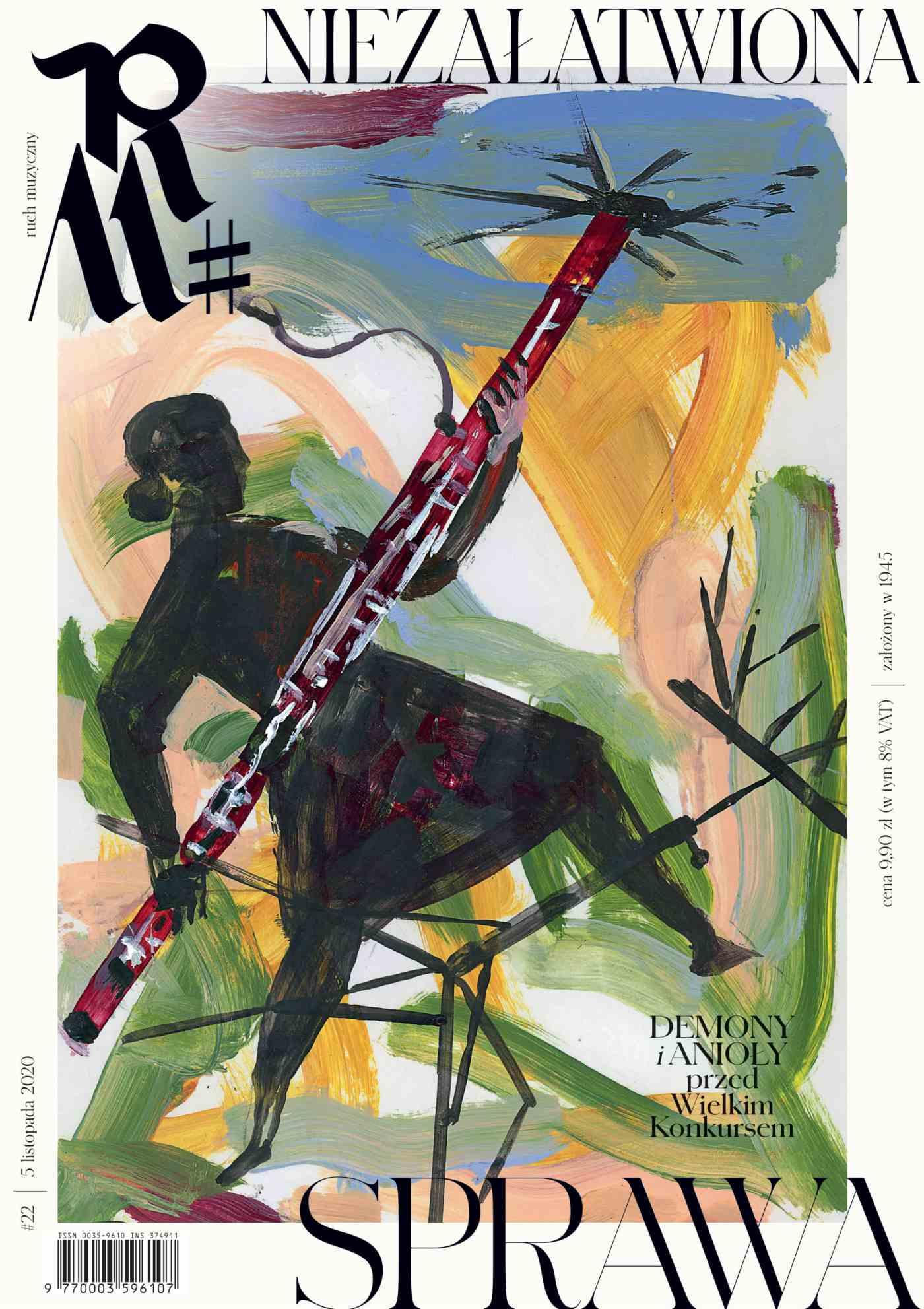 Ruch Muzyczny nr 22/2020 - Ebook (Książka PDF) do pobrania w formacie PDF