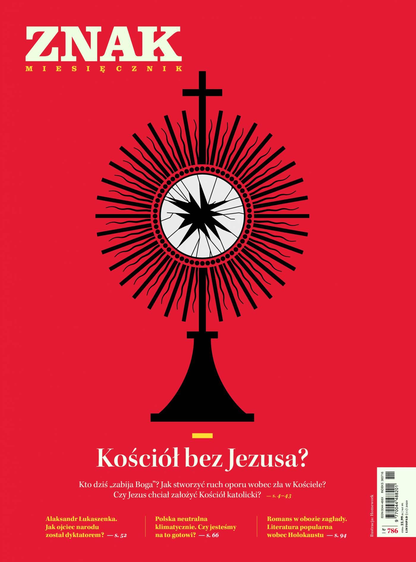 Miesięcznik Znak nr 786: Kościół bez Jezusa? - Ebook (Książka na Kindle) do pobrania w formacie MOBI