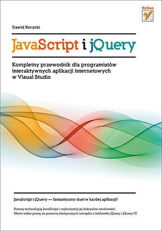 JavaScript i jQuery. Kompletny przewodnik dla programistów interaktywnych aplikacji internetowych w Visual Studio - Ebook (Książka EPUB) do pobrania w formacie EPUB