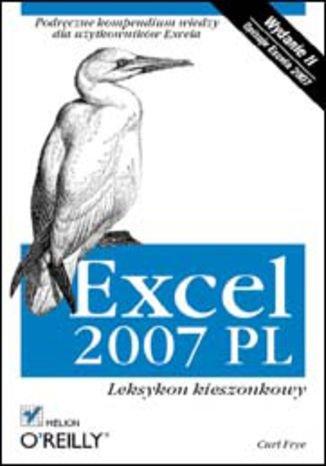 Excel 2007 PL. Leksykon kieszonkowy. Wydanie II - Ebook (Książka EPUB) do pobrania w formacie EPUB