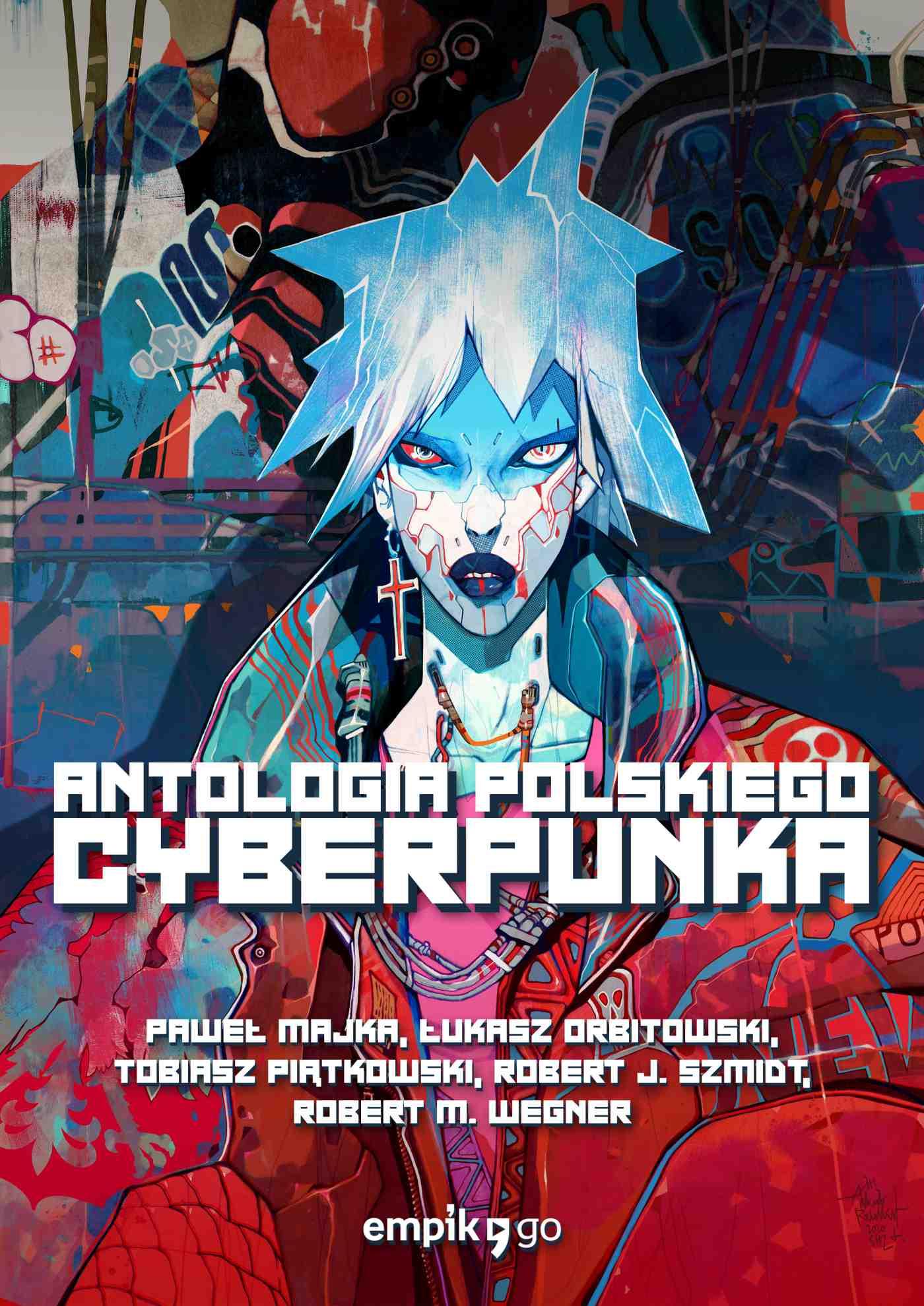 Antologia polskiego cyberpunka - Ebook (Książka EPUB) do pobrania w formacie EPUB