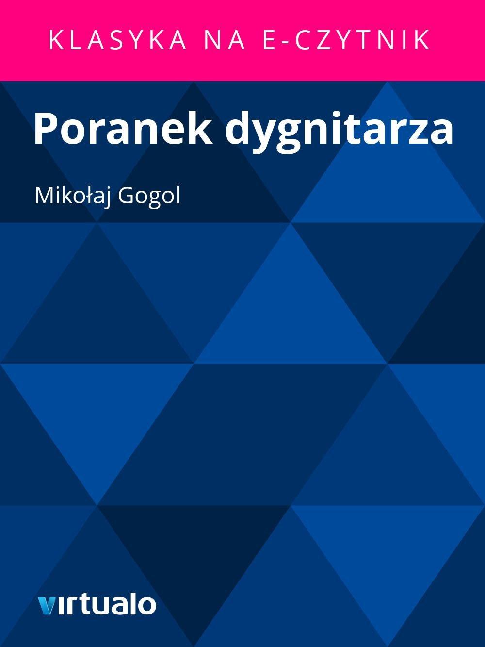 Poranek dygnitarza - Ebook (Książka EPUB) do pobrania w formacie EPUB