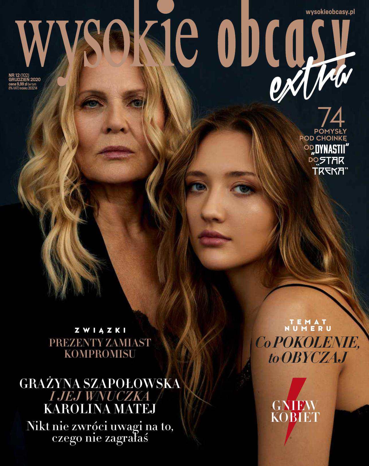 Wysokie Obcasy Extra 12/2020 - Ebook (Książka na Kindle) do pobrania w formacie MOBI