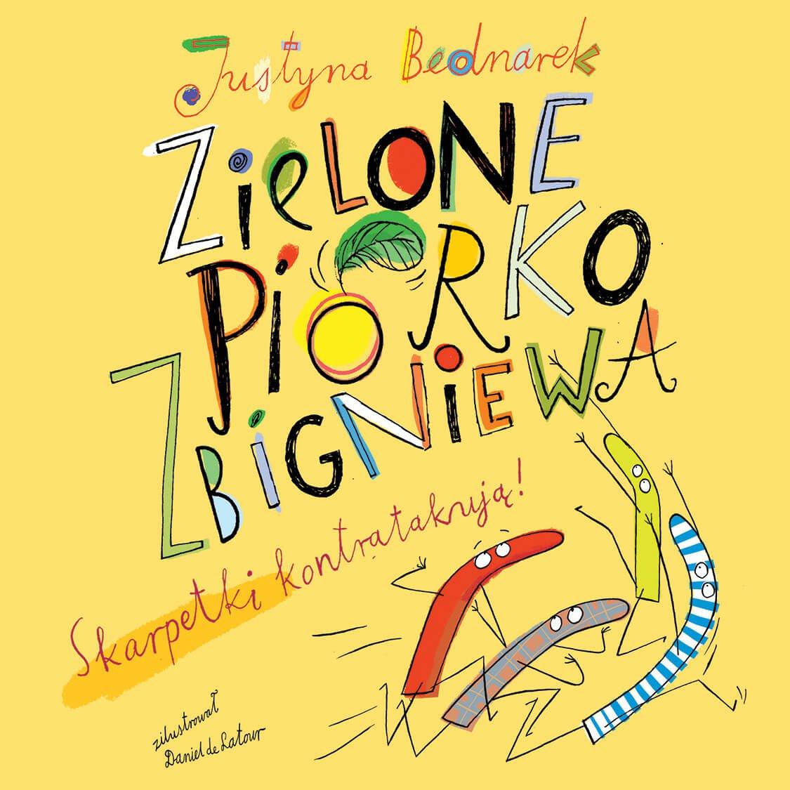 Zielone piórko Zbigniewa - Audiobook (Książka audio MP3) do pobrania w całości w archiwum ZIP