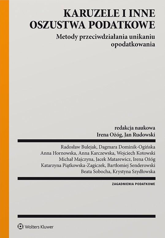 Karuzele i inne oszustwa podatkowe. Metody przeciwdziałania unikaniu opodatkowania - Ebook (Książka PDF) do pobrania w formacie PDF