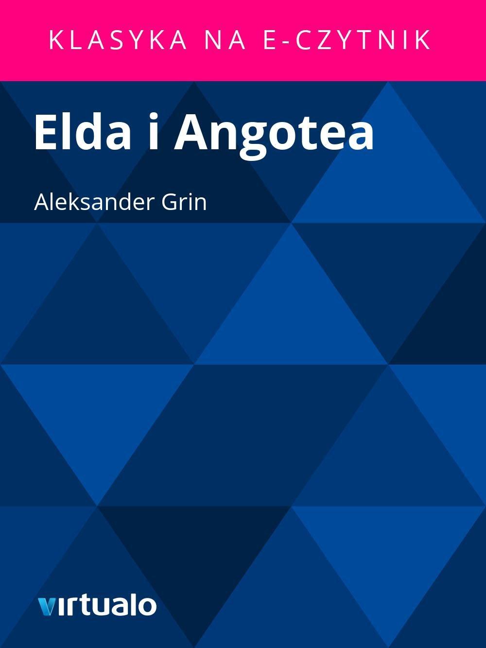 Elda i Angotea - Ebook (Książka EPUB) do pobrania w formacie EPUB