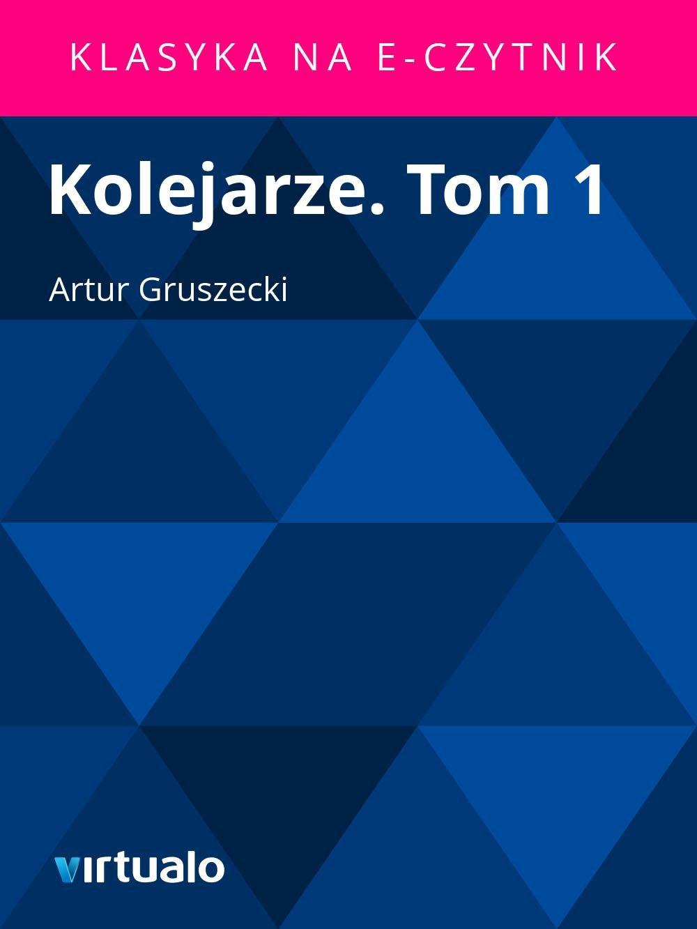 Kolejarze. Tom 1 - Ebook (Książka EPUB) do pobrania w formacie EPUB