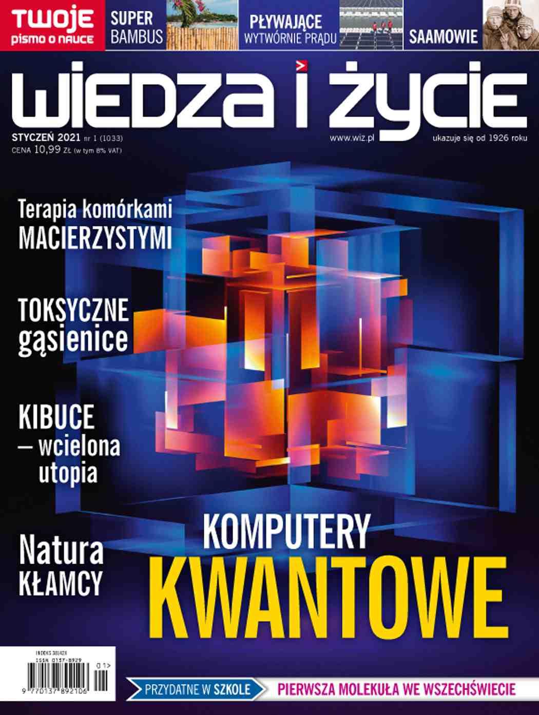 Wiedza i Życie nr 1/2021 - Ebook (Książka PDF) do pobrania w formacie PDF