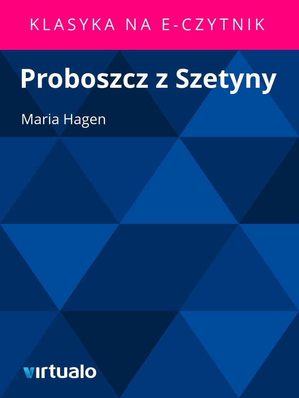 Proboszcz z Szetyny - Ebook (Książka EPUB) do pobrania w formacie EPUB