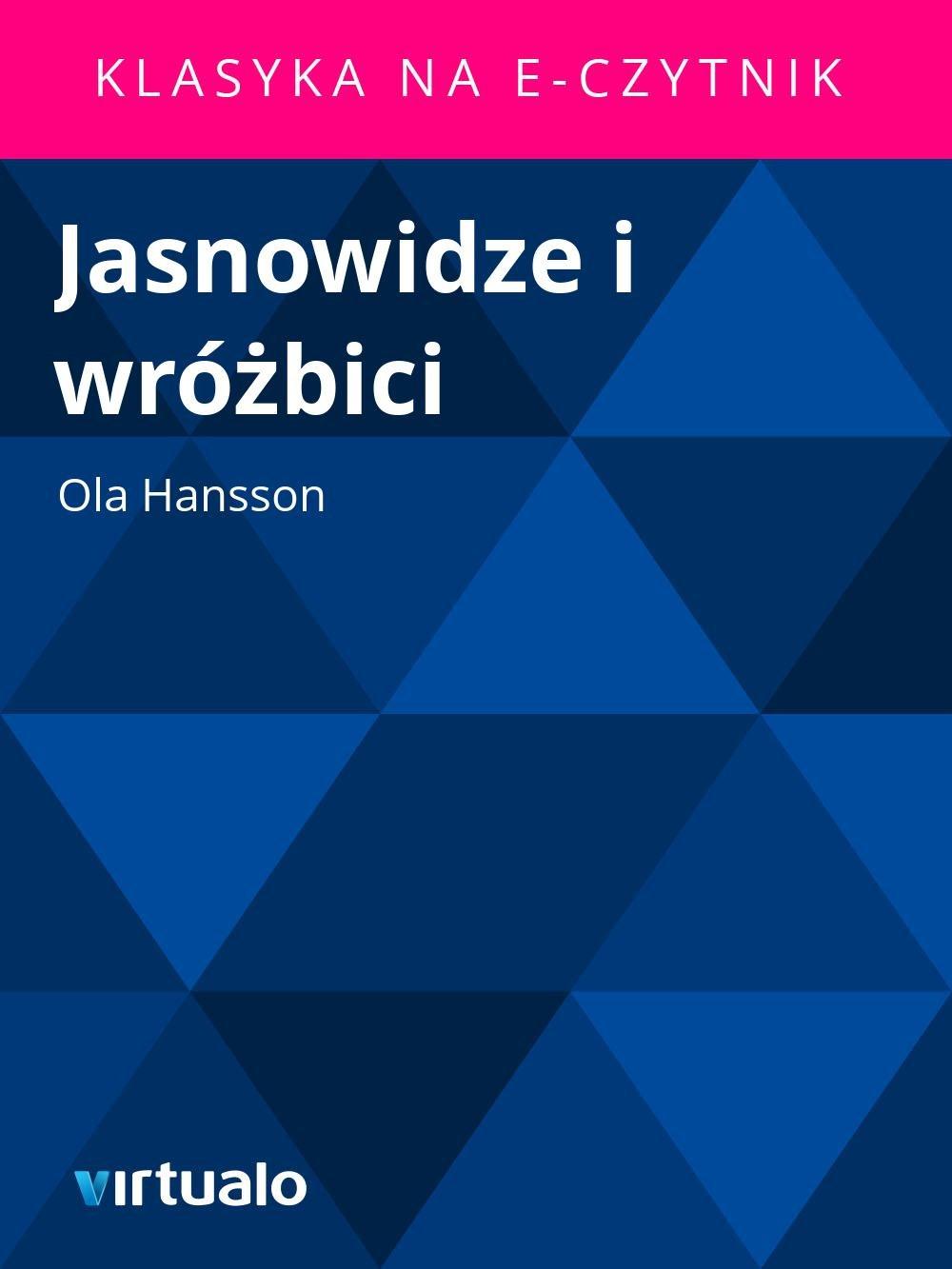 Jasnowidze i wróżbici - Ebook (Książka EPUB) do pobrania w formacie EPUB