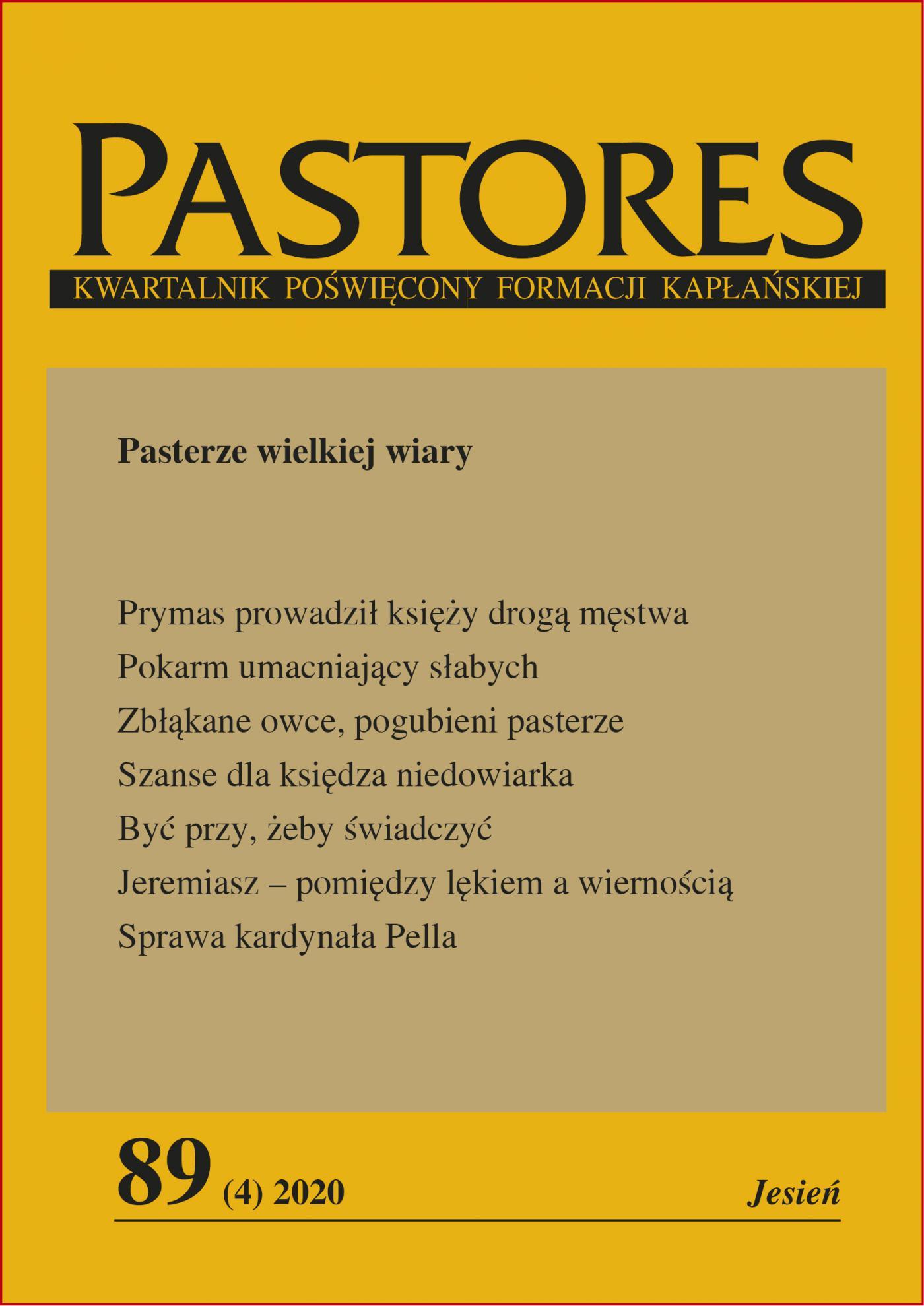 Pastores 89 (4) 2020 - Ebook (Książka EPUB) do pobrania w formacie EPUB