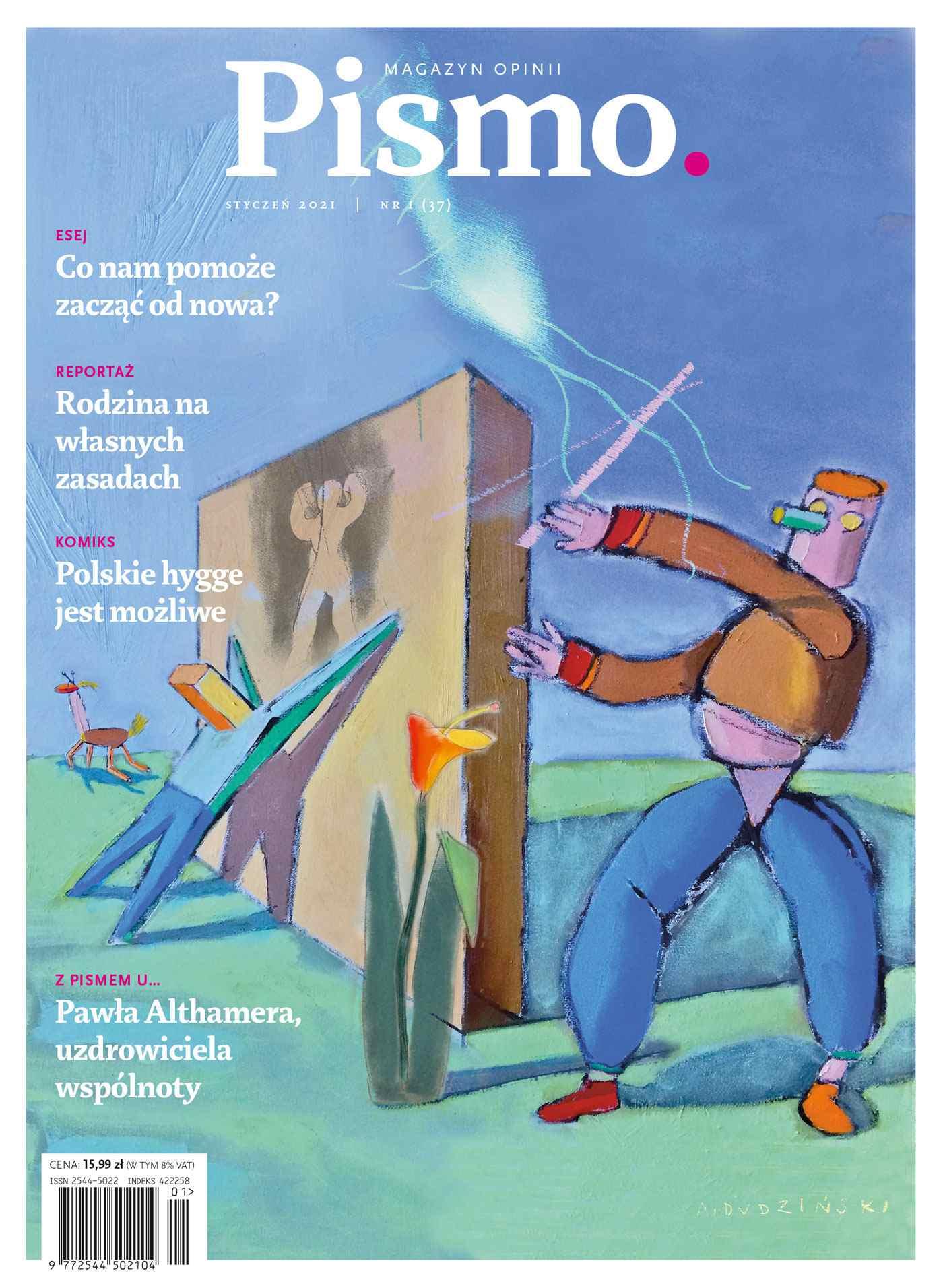 Pismo. Magazyn Opinii 01/2021 - Audiobook (Książka audio MP3) do pobrania w całości w archiwum ZIP