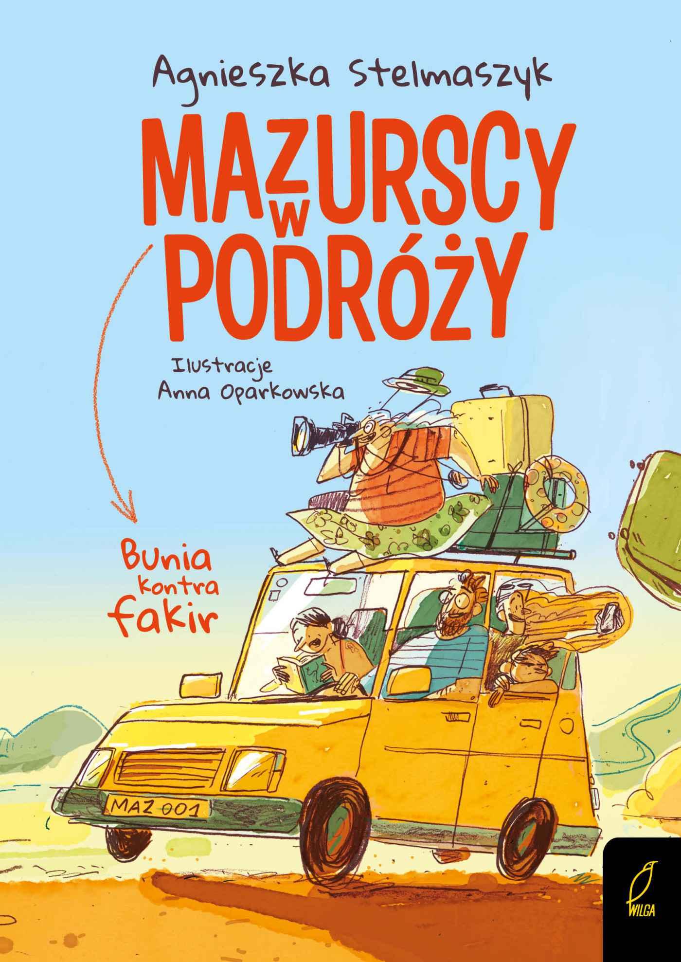 Mazurscy w podróży. Bunia kontra fakir. Tom 1 - Ebook (Książka PDF) do pobrania w formacie PDF