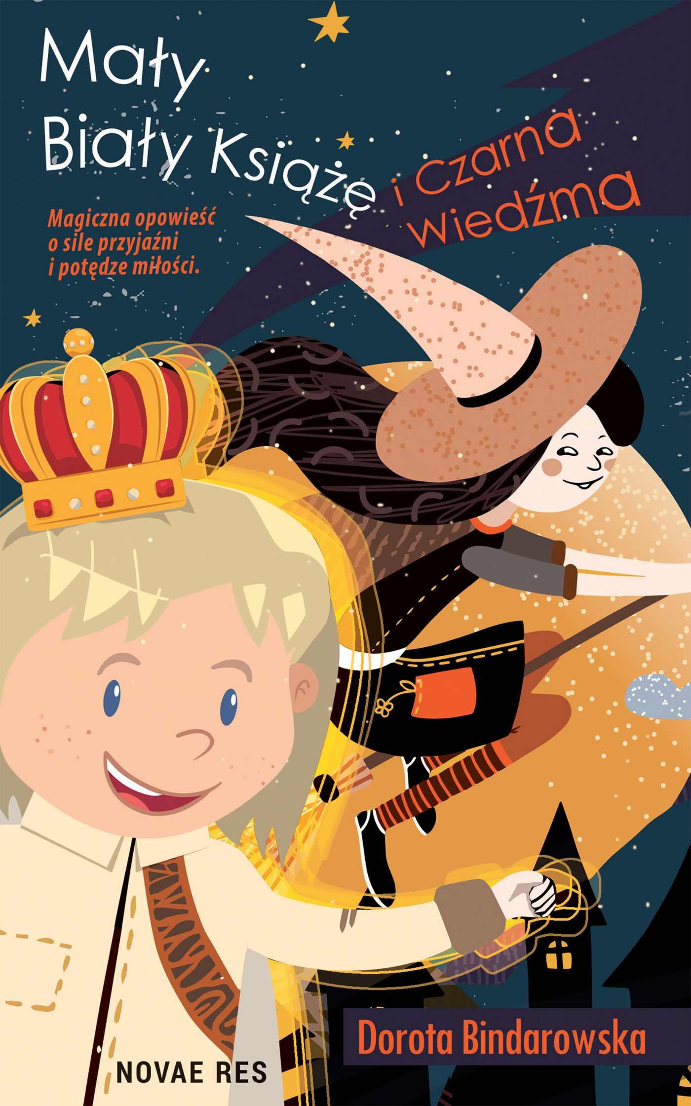 Mały Biały Książę i Czarna Wiedźma - Ebook (Książka EPUB) do pobrania w formacie EPUB