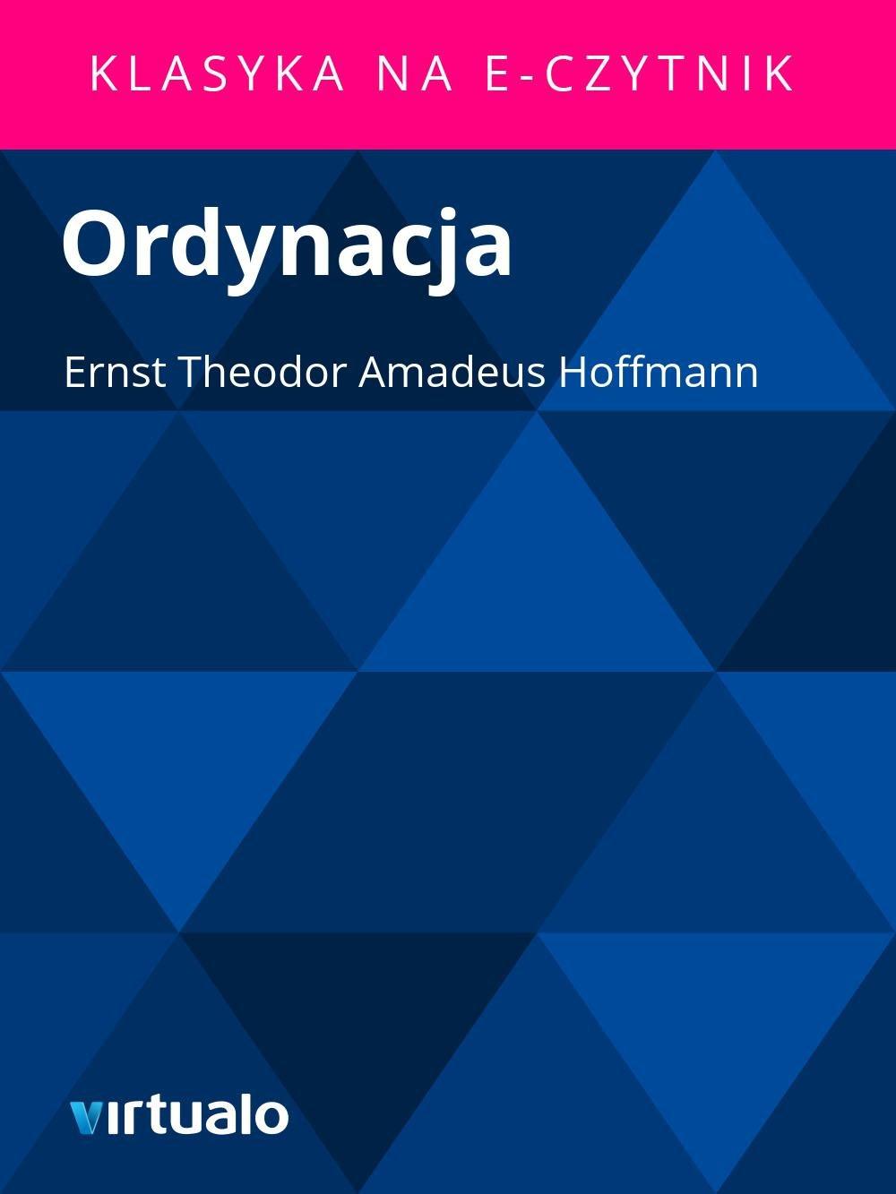 Ordynacja - Ebook (Książka EPUB) do pobrania w formacie EPUB