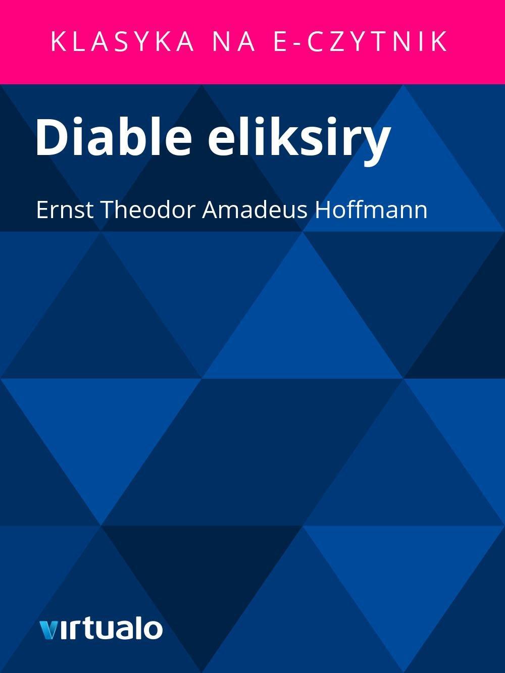 Diable eliksiry - Ebook (Książka EPUB) do pobrania w formacie EPUB
