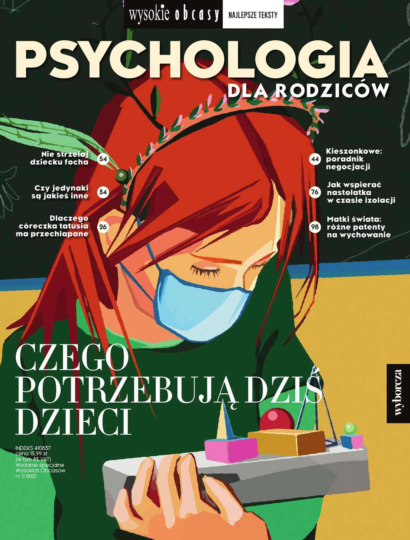 Psychologia dla rodziców 1/2021. Wysokie Obcasy. Wydanie specjalne - Ebook (Książka PDF) do pobrania w formacie PDF