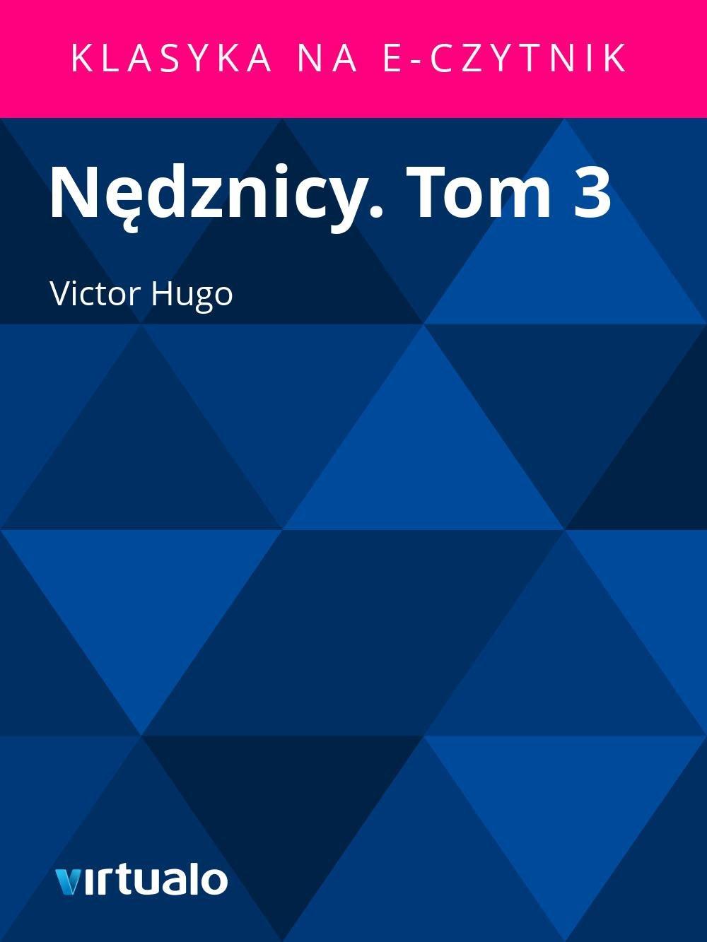 Nędznicy. Tom 3 - Ebook (Książka EPUB) do pobrania w formacie EPUB