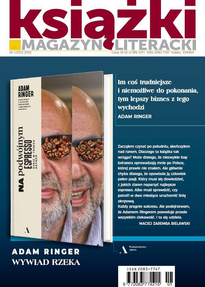 Magazyn Literacki Książki 1/2021 - Ebook (Książka PDF) do pobrania w formacie PDF