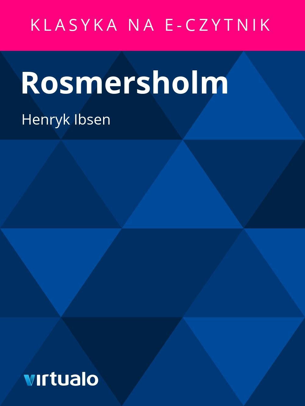 Rosmersholm - Ebook (Książka EPUB) do pobrania w formacie EPUB
