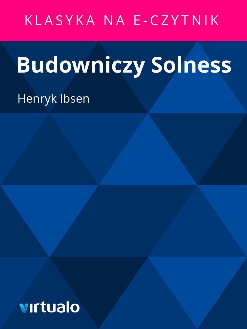 Budowniczy Solness - Ebook (Książka EPUB) do pobrania w formacie EPUB