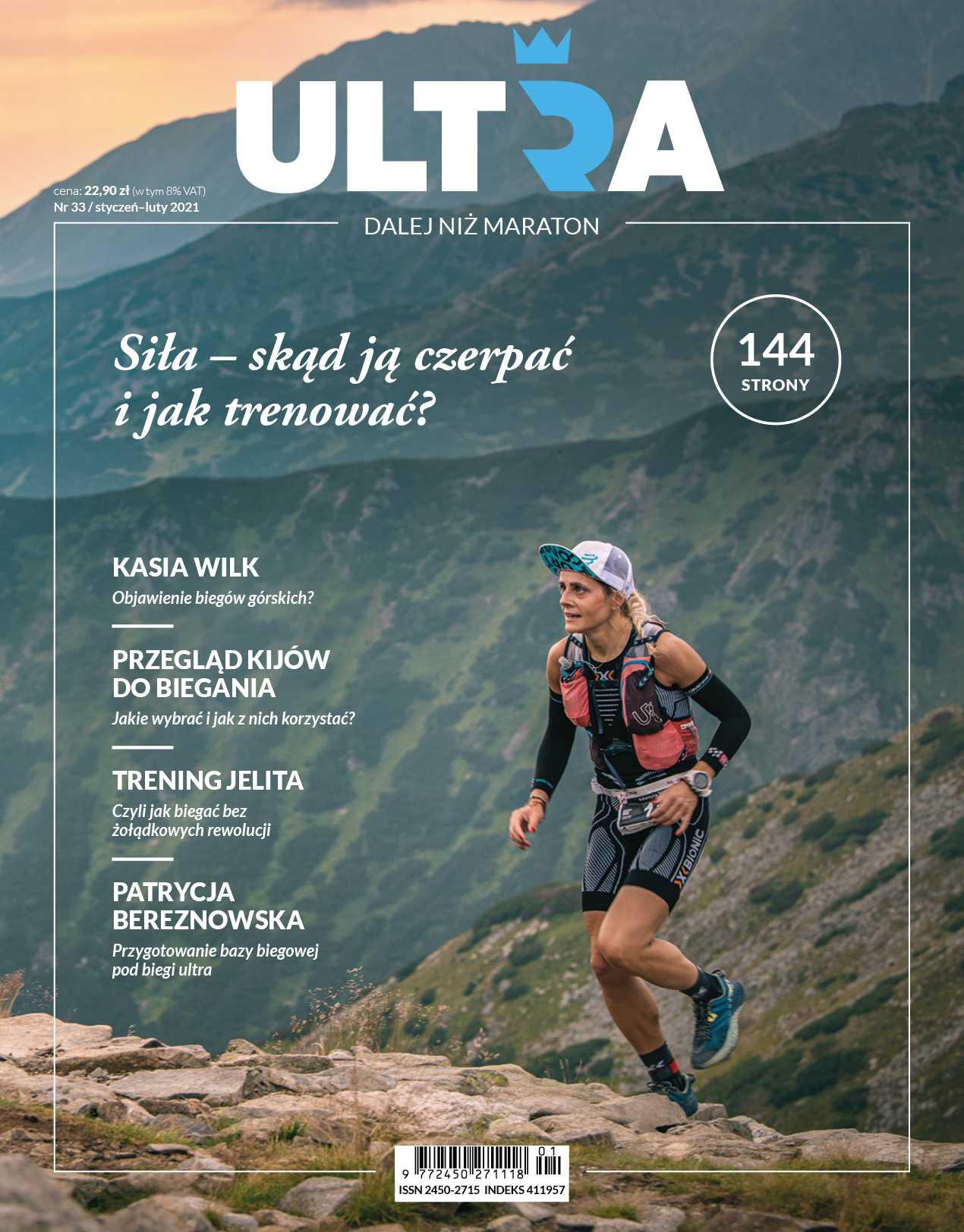 ULTRA - Dalej niż maraton 01/2021 - Ebook (Książka PDF) do pobrania w formacie PDF