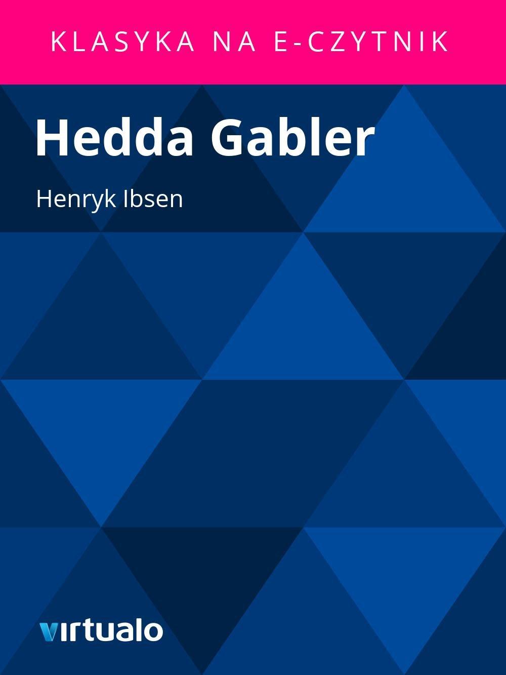 Hedda Gabler - Ebook (Książka EPUB) do pobrania w formacie EPUB