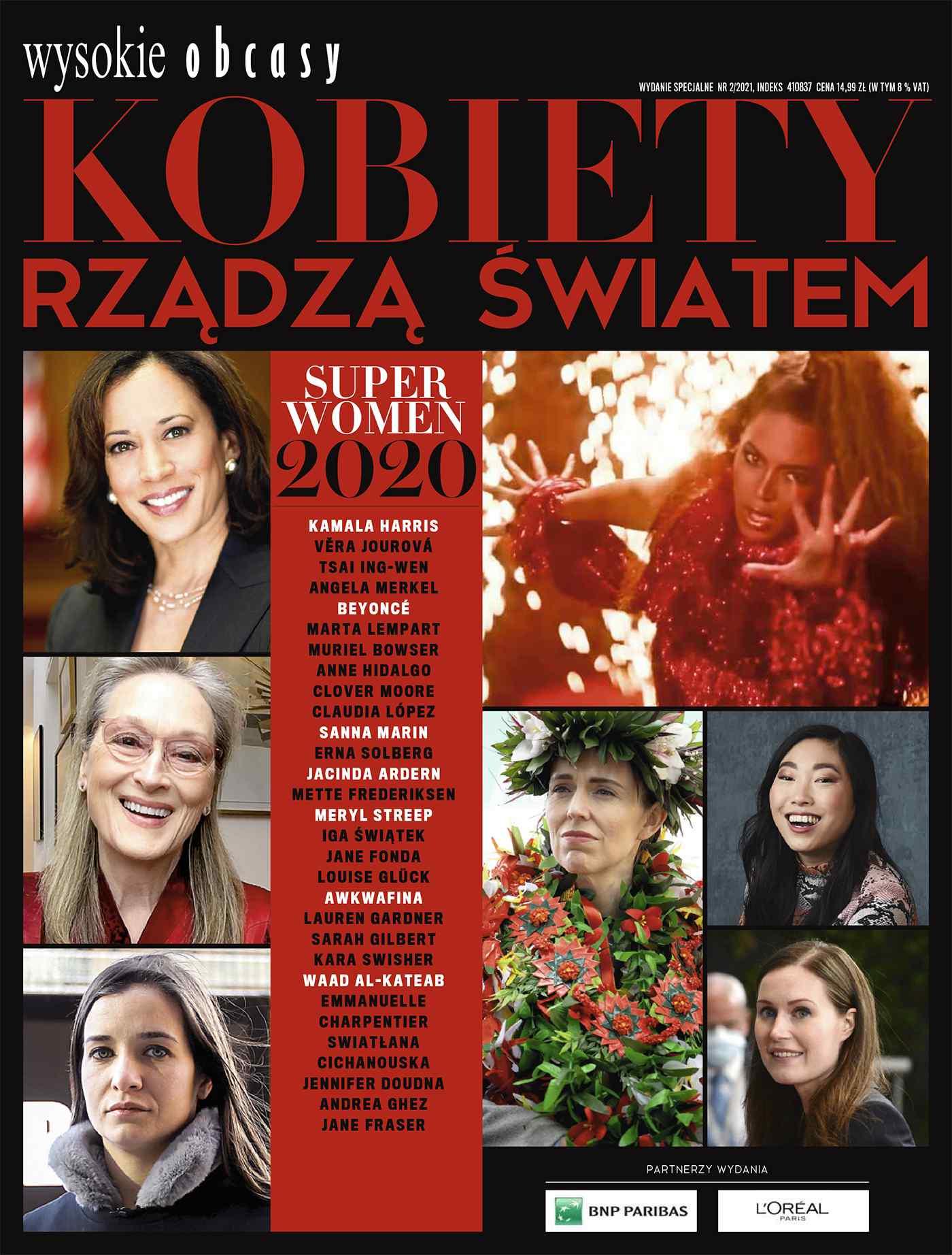 Kobiety rządzą światem. Wysokie Obcasy. Wydanie Specjalne 2/2021 - Ebook (Książka na Kindle) do pobrania w formacie MOBI