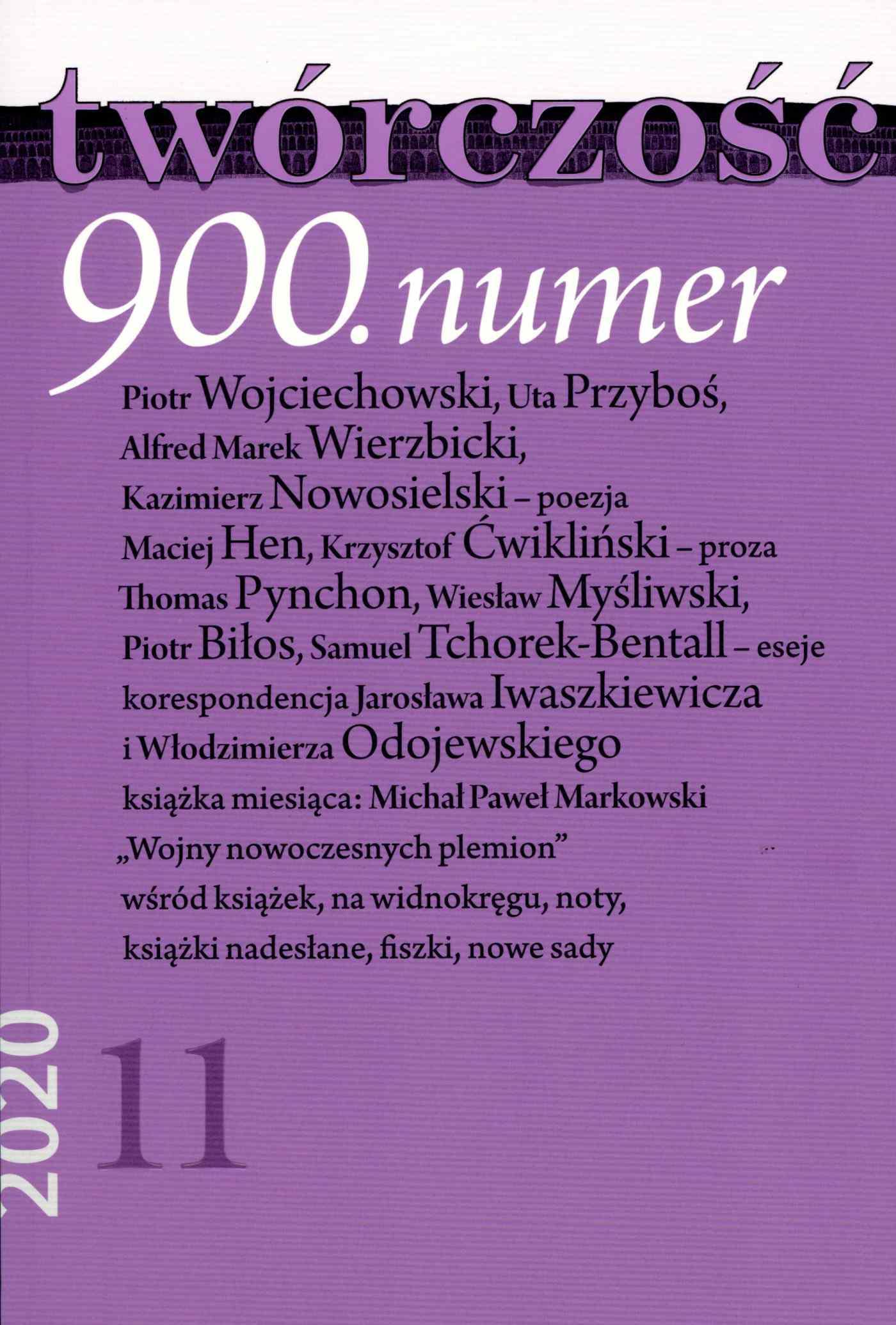 Twórczość 11/2020 - Ebook (Książka EPUB) do pobrania w formacie EPUB