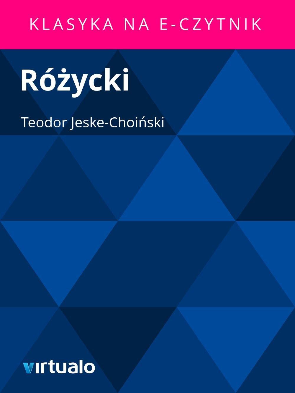 Różycki - Ebook (Książka EPUB) do pobrania w formacie EPUB
