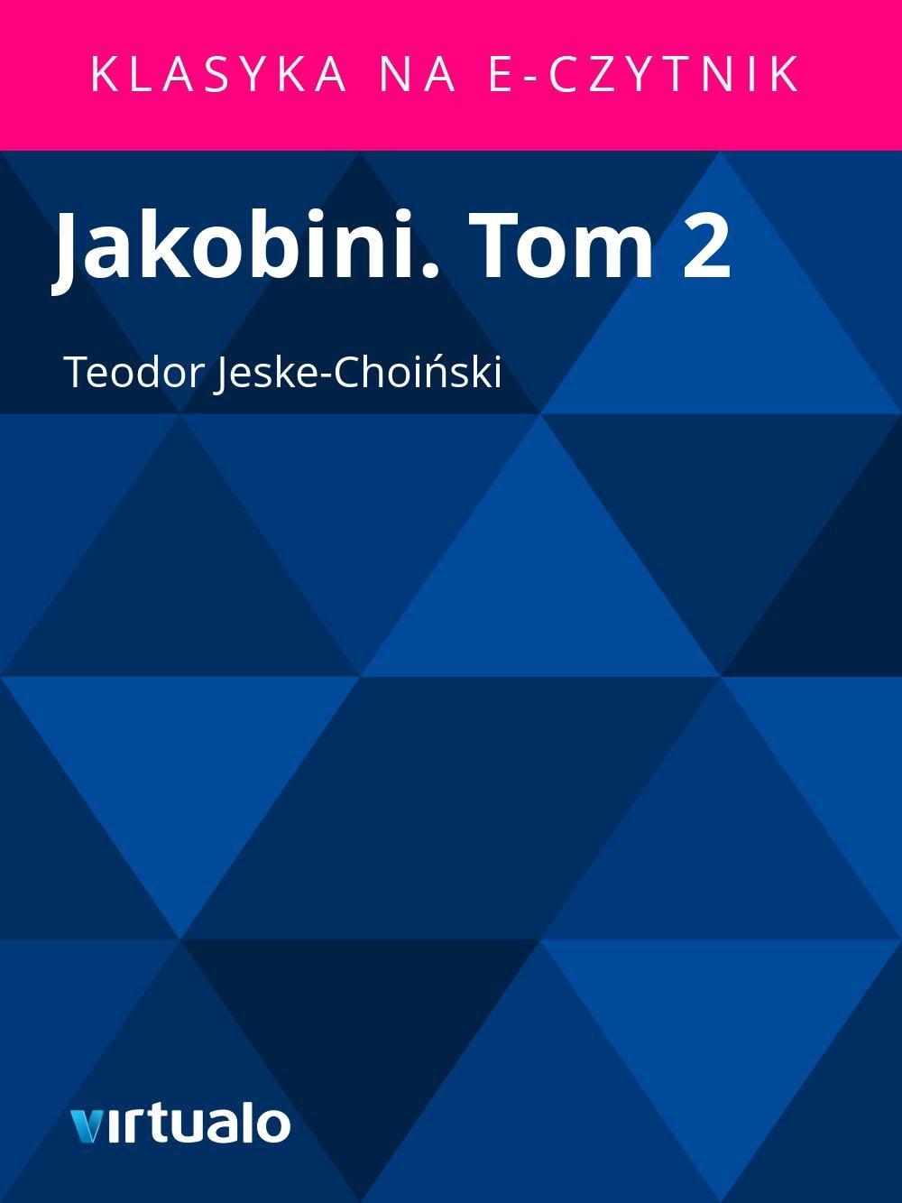 Jakobini. Tom 2 - Ebook (Książka EPUB) do pobrania w formacie EPUB