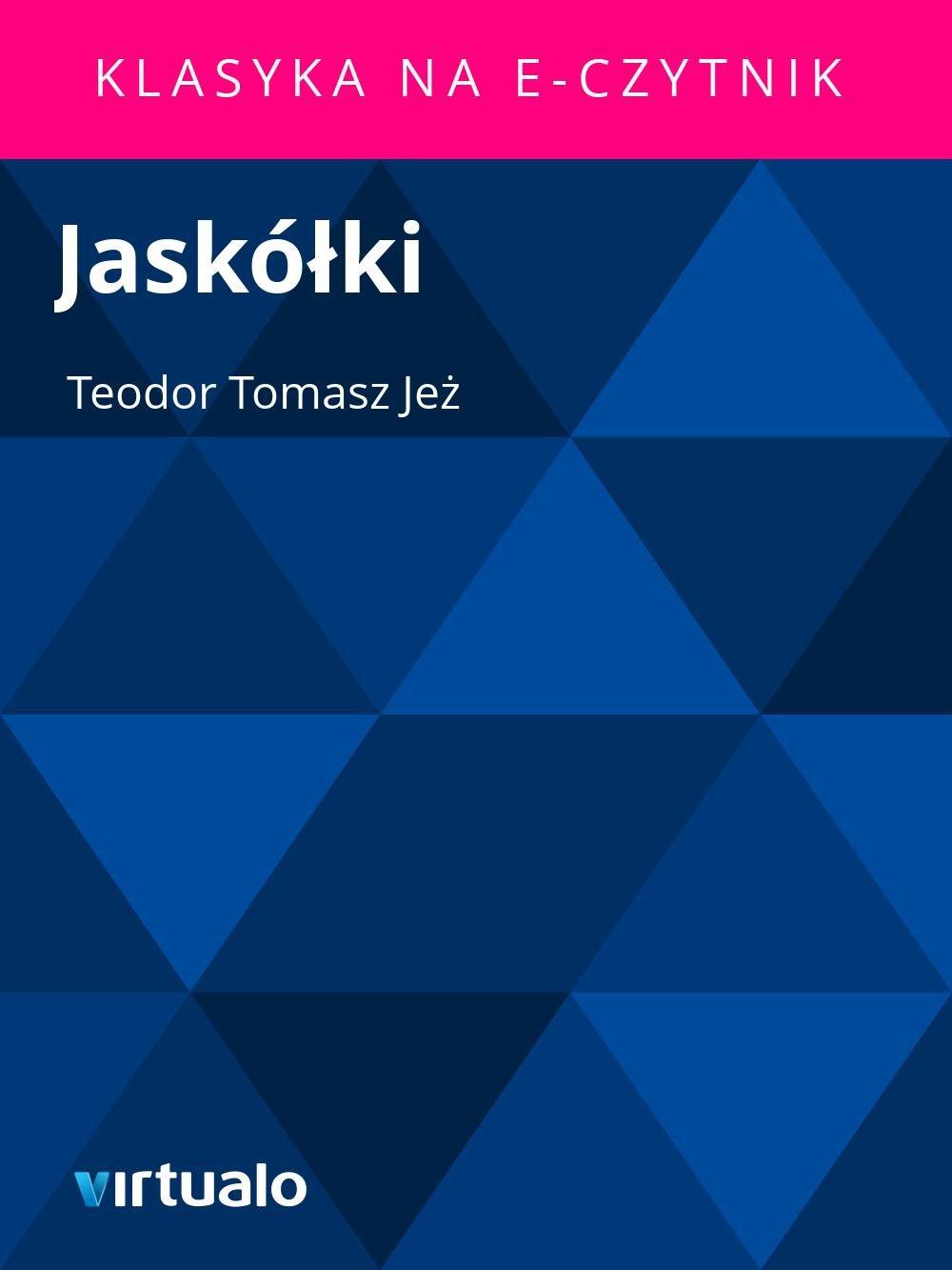 Jaskółki - Ebook (Książka EPUB) do pobrania w formacie EPUB