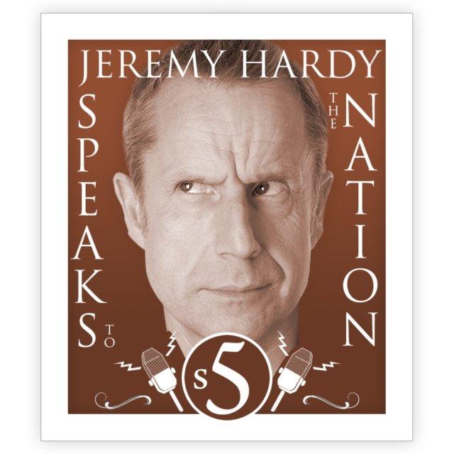 Jeremy Hardy Speaks To The Nation The Complete Series 5 - Audiobook (Książka audio MP3) do pobrania w całości w archiwum ZIP