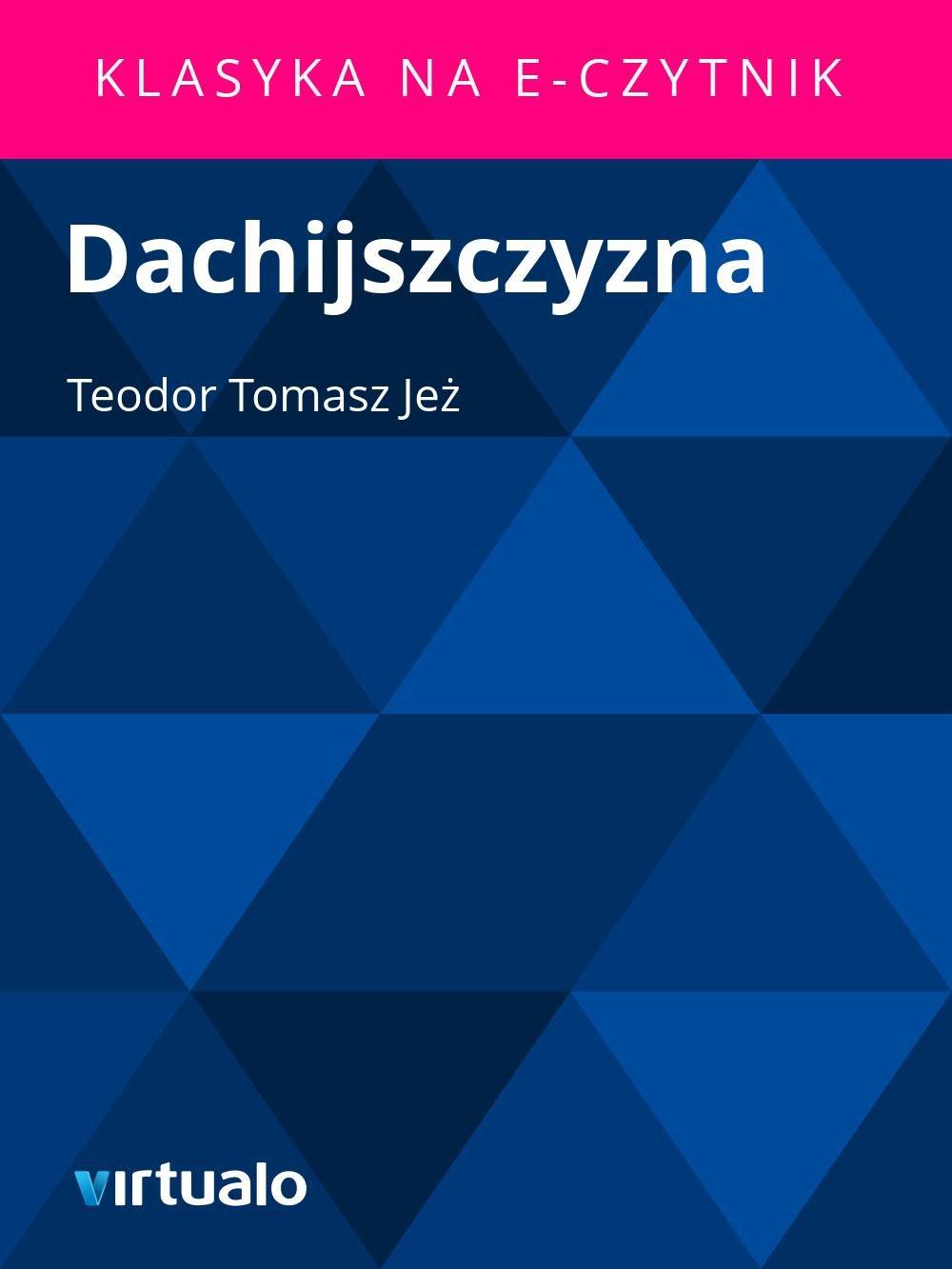 Dachijszczyzna - Ebook (Książka EPUB) do pobrania w formacie EPUB
