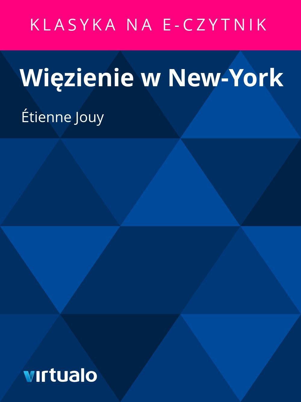 Więzienie w New-York - Ebook (Książka EPUB) do pobrania w formacie EPUB