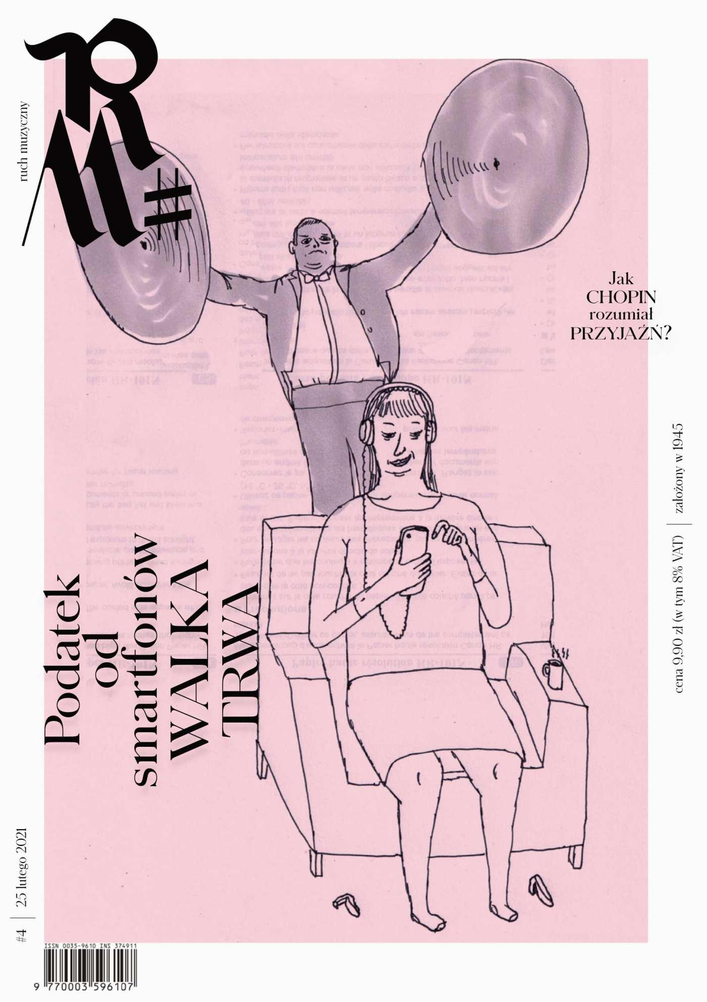 Ruch Muzyczny nr 4/2021 - Ebook (Książka PDF) do pobrania w formacie PDF