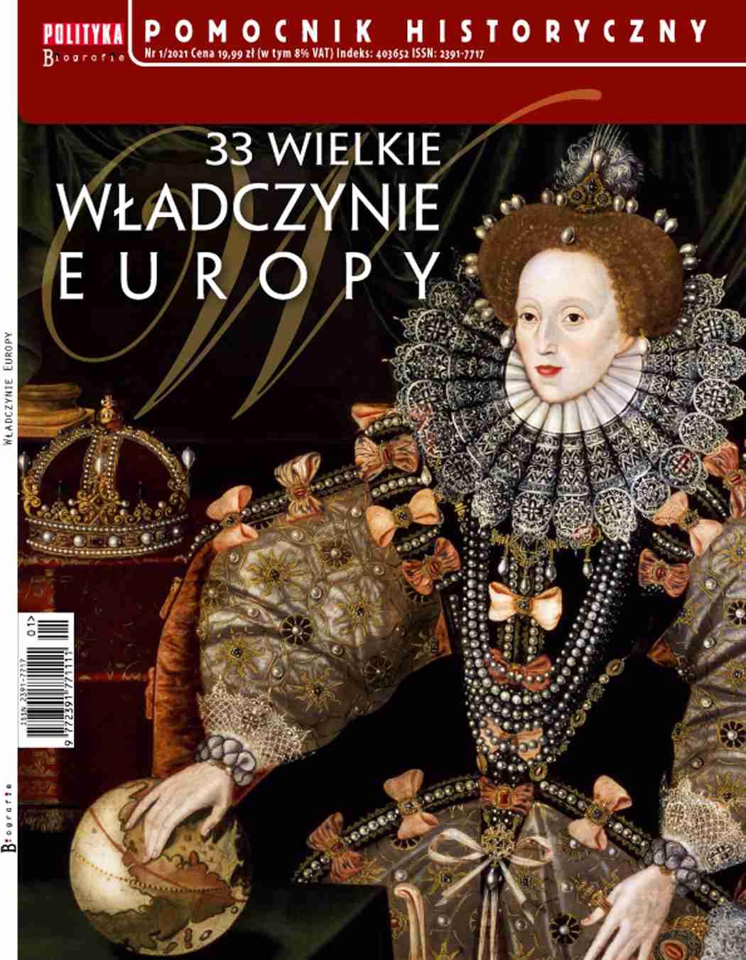 Pomocnik Historyczny. 33 wielkie władczynie Europy 1/2021 - Ebook (Książka PDF) do pobrania w formacie PDF