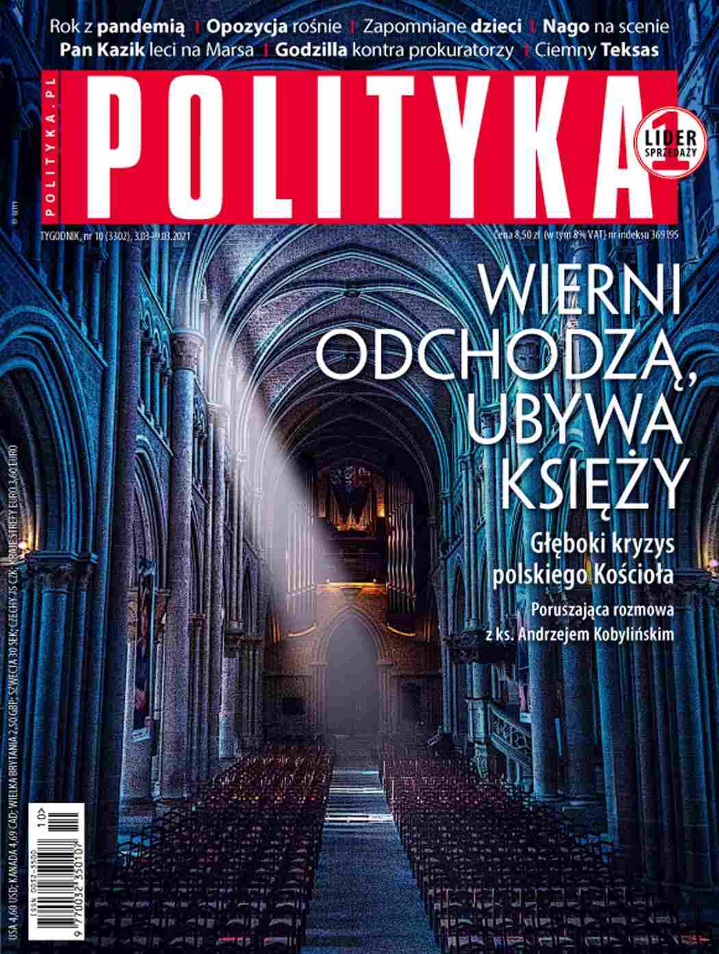 Polityka nr 10/2021 - Ebook (Książka PDF) do pobrania w formacie PDF