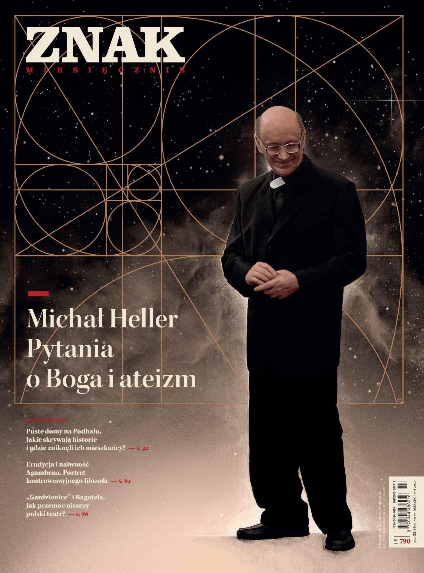 Miesięcznik Znak nr 790. Michał Heller. Pytania o Boga i ateizm - Ebook (Książka na Kindle) do pobrania w formacie MOBI