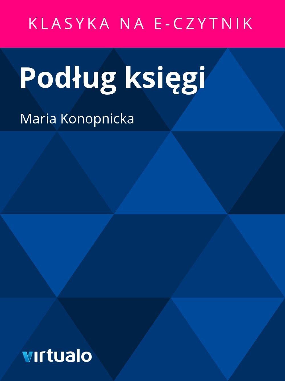 Podług księgi - Ebook (Książka EPUB) do pobrania w formacie EPUB