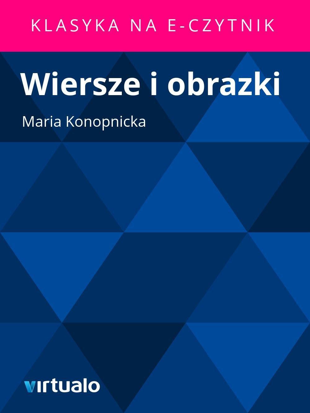 Wiersze i obrazki - Ebook (Książka EPUB) do pobrania w formacie EPUB