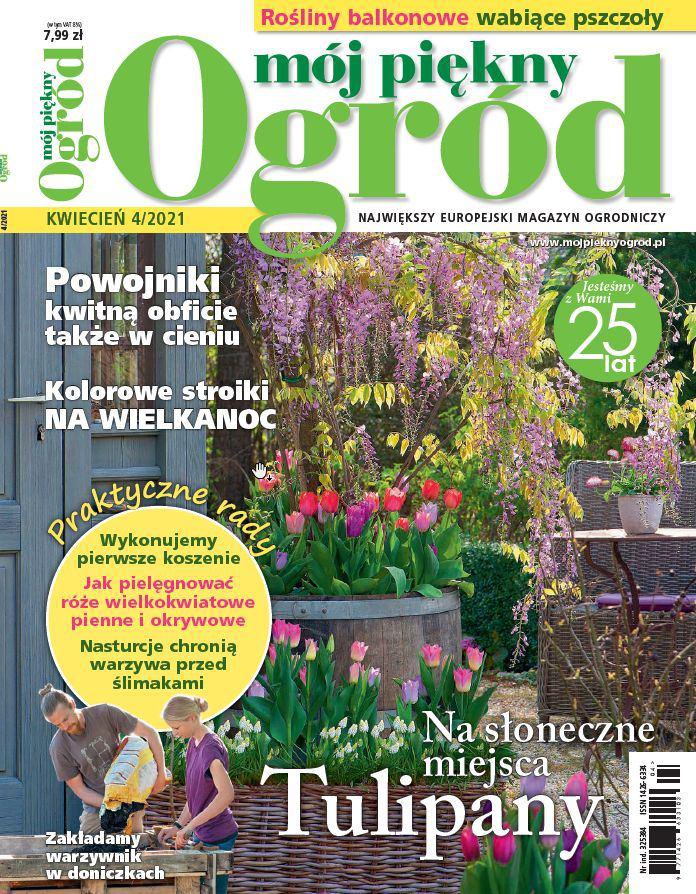 Mój Piękny Ogród 4/2021 - Ebook (Książka PDF) do pobrania w formacie PDF