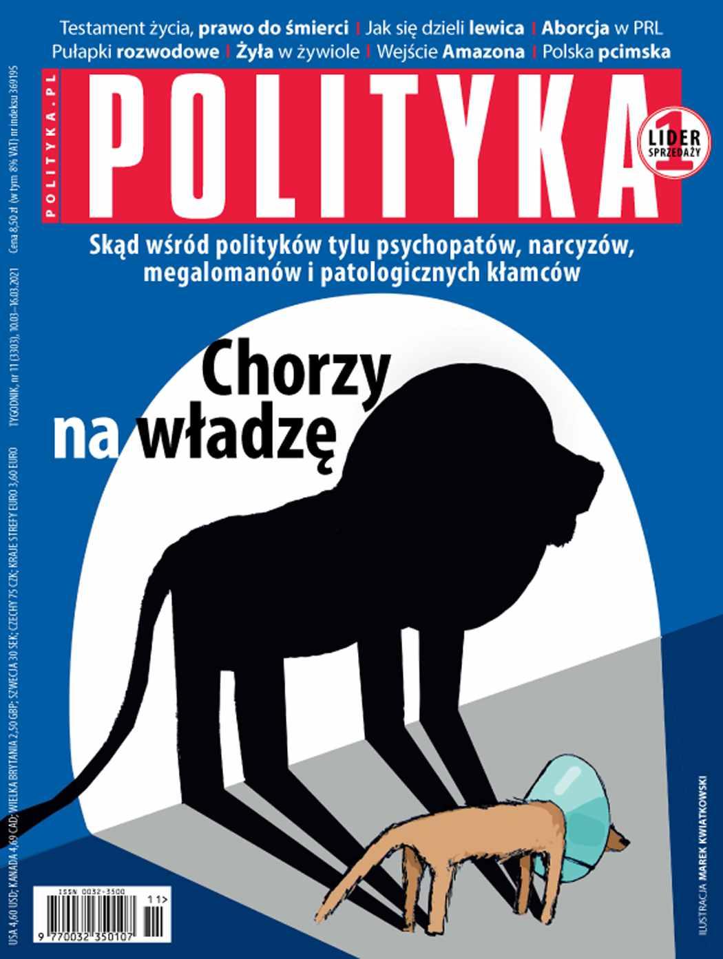 Polityka nr 11/2021 - Ebook (Książka PDF) do pobrania w formacie PDF